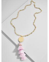 BaubleBar - Tahira Tassel Pendant Necklace - Lyst