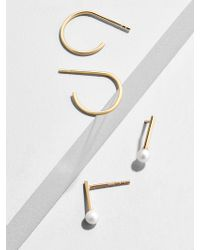 BaubleBar - Fantasia 18k Gold Plated Earring Duo - Lyst