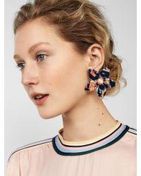 BaubleBar - Amariella Flower Stud Resin Earrings - Lyst