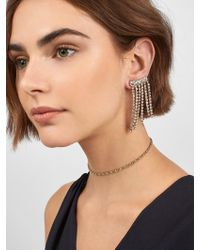 BaubleBar - Black Tie Optional Drop Earrings - Lyst