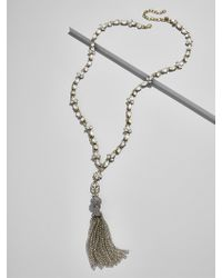BaubleBar - Sugarplum Tassel Pendant Necklace - Lyst