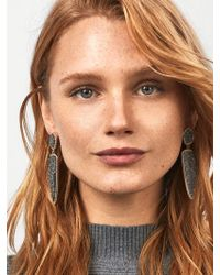 BaubleBar - Moonbeam Druzy Drop Earrings - Lyst