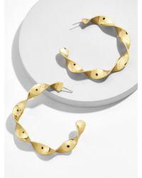 BaubleBar - Nabina Hoop Earrings - Lyst