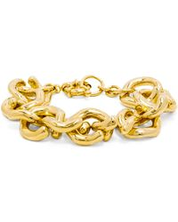 BaubleBar - Gold Mary Links Bracelet - Lyst