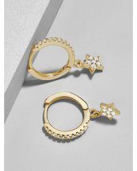 BaubleBar - Stella Everyday Fine Huggie Hoop Earrings - Lyst