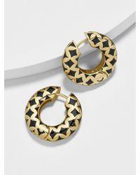 BaubleBar - Vasantha Huggie Hoop Earrings - Lyst