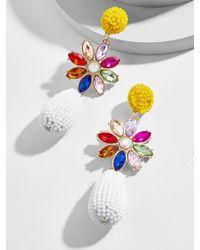 BaubleBar - Peony Drop Earrings - Lyst