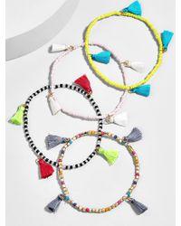 BaubleBar - Atlantis Tassel Bracelet Set-multi - Lyst