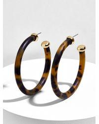 BaubleBar - Leia Resin Hoop Earrings - Lyst