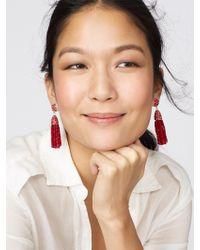 BaubleBar - Mini Gem Piñata Tassel Earrings - Lyst
