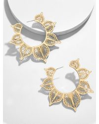BaubleBar - Autumn Hoop Earrings - Lyst