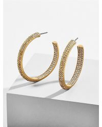BaubleBar - Stefania Hoop Earrings - Lyst