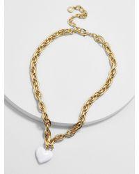 BaubleBar - Neona Heart Pendant Necklace - Lyst