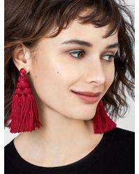 BaubleBar | Miana Tassel Earrings | Lyst