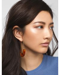 BaubleBar - Faidra Resin Drop Earrings - Lyst