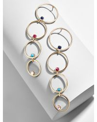 BaubleBar - Lucienne Hoop Earrings - Lyst