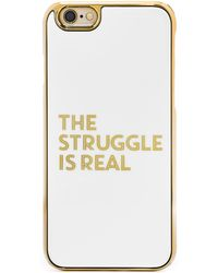 BaubleBar - Amanda Struggle Cover Up Iphone 6/6s Case - Lyst
