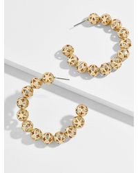 BaubleBar - Amora Hoop Earrings - Lyst