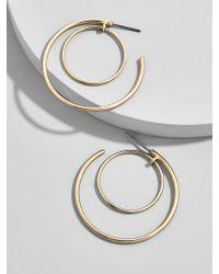 BaubleBar - Samantha Hoop Earrings - Lyst