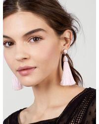 BaubleBar - Rosabella Tassel Earrings - Lyst