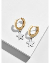 BaubleBar - Lumen Huggie Hoop Earrings - Lyst