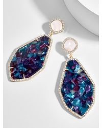 BaubleBar - Evangelia Resin Drop Earrings - Lyst
