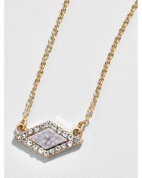 BaubleBar - Celestina Pendant Necklace - Lyst