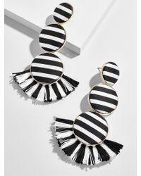 BaubleBar - Zakiya Drop Earrings-black - Lyst