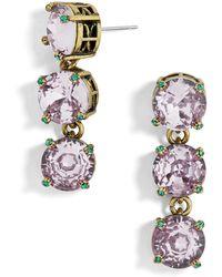BaubleBar - Cariana Glass Drop Earrings - Lyst