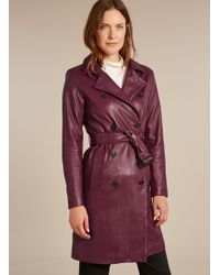 Baukjen - Anya Leather Coat - Lyst