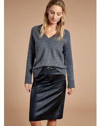 Baukjen - Lynn Leather Skirt - Lyst
