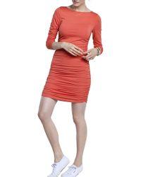 Baukjen - Ruched Jersey Dress - Lyst