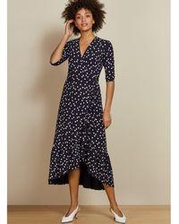 Baukjen - Sapphire Ruffle Dress - Lyst