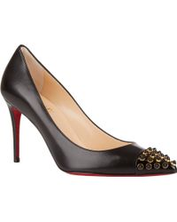Christian Louboutin Black Cabo Pumps - Lyst