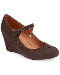 Gentle Souls - 'fisher' Mary Jane Wedge - Lyst