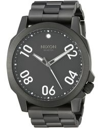 Nixon The Ranger 45 black - Lyst