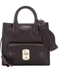 Balenciaga Padlock Mini All Crossbody Bag - Lyst