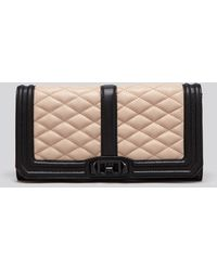 Rebecca Minkoff Clutch - Colorblock Love - Lyst
