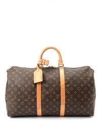 Louis Vuitton Pre-Owned Keepall 50 - Lyst