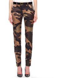 Michael Kors Samantha Camouflage Pants - Lyst