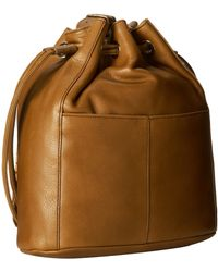 Cole Haan Brown Felicity Drawstring - Lyst
