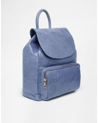 Urbancode Leather Backpack - Lyst
