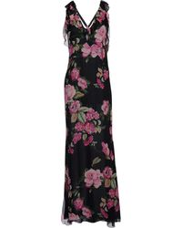 Blugirl Blumarine Long Dress - Lyst