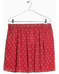 Mango Ethnic Print Skirt - Lyst