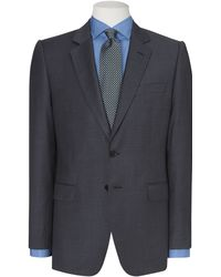 Jaeger Pinhead Single Breasted Suit Jacket - Lyst