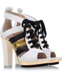 Barbara Bui Sandals black - Lyst