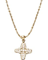 Brevard - Plus Sign Necklace - Lyst