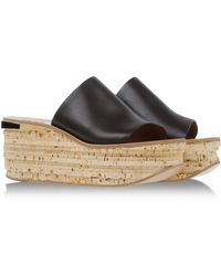 Chloé Mules & Clogs brown - Lyst