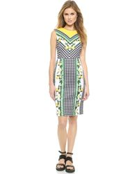 Emma Cook - Scuba Dress - Lemons - Lyst