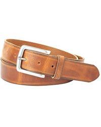 Trafalgar - 'nate' Leather Belt - Lyst